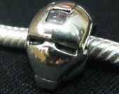 SALE IRON MAN Sterling Silver Bead
