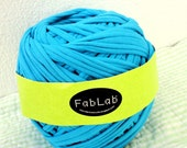 ONE KILOGRAM of Blue Turquoise Fabric Yarn