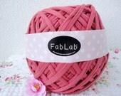 One Kilogram of Pink Fabric Yarn