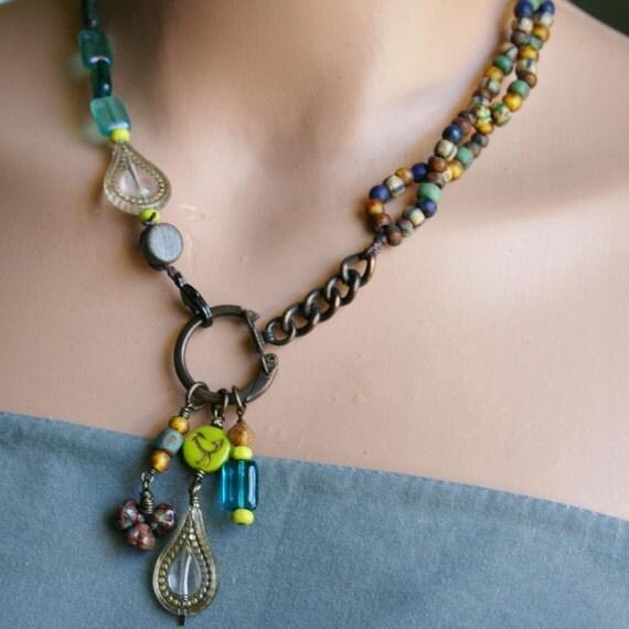 Gypsy Sea Glass Necklace