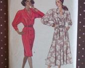 Vintage 1980s Sewing Pattern - Butterick 3096 - Misses' Dress (Size 12-14-16)