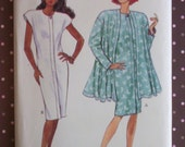 Vintage 1980s Sewing Pattern - Butterick 3097 - Misses' Jacket And Dress (Size 14-16-18)