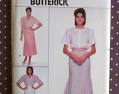 Vintage 1980s Sewing Pattern - Butterick 3693 - Misses' Skirt (Size 14-16-18)