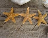 Mermaid Hair Accessories,Starfish Hair,Starfish Hair Bobby Pins,Beach Wedding,Beach Bride,Girl Mermaid Party,Starfish Wedding