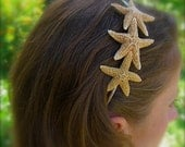 Starfish Hair Accessories, Starfish Headband,Starfish Hair,Mermaid Hair Accessories,Mermaid Hair Piece,Beach Wedding,Nautical Headband