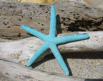 Starfish Hair Clip,Beach Wedding,Mermaid Accessories,Starfish Accessories,Sea Life Hair Clip,Blue Hair Clip,Beach Hair Clip,Prom Accessories