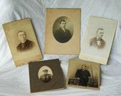 Dapper Gentlemen - Vintage Photographs
