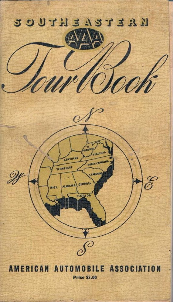AAA Tour Book for the Southeastern United States, 1941