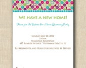 Berry Birds - NEW HOME, Bridal Shower, Birthday, Engagement. Invitation or Announcement