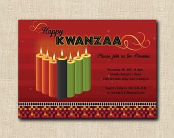 Kwanzaa Invitation for Karamu - 12