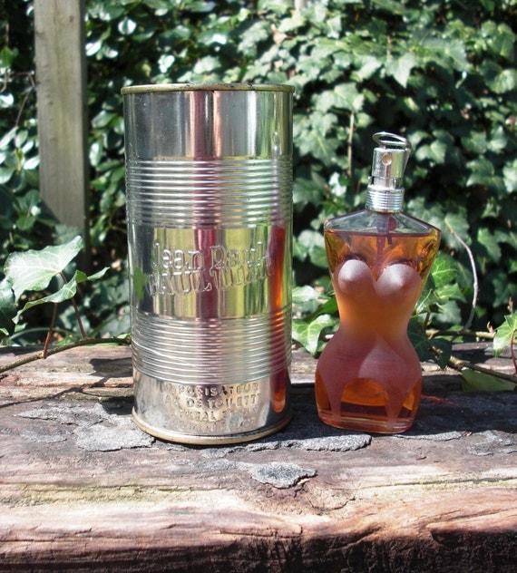 Vintage Jean-Paul Gaultier Eau de Toilette Natural Spray with Original Container