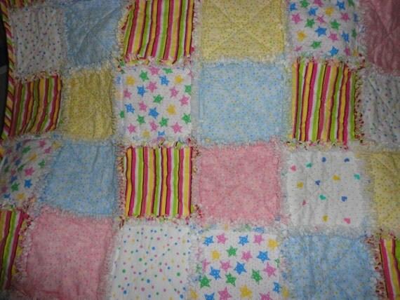 Baby Crib Rag Quilt