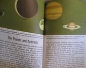 Vintage 1970s Golden Guide THE SKY OBSERVER's GUIDE Book