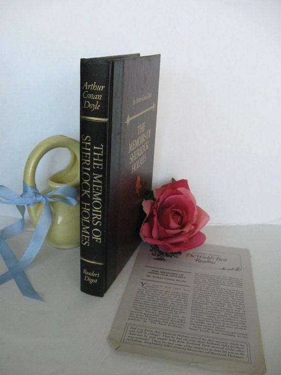 The Memoirs of Sherlock Holmes by Sir Arthur Conan Doyle READERS Digest Edition