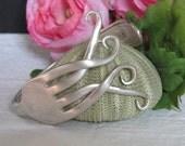 Queen Oneida Fork Bracelet