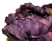 1 Jumbo Purple Violet Peony - Boutique Style - Artificial Silk Flower - PRE-ORDER