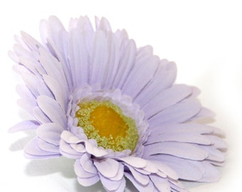 1 Lavender Silk Daisy - Artificial Flowers, Silk Flower Heads - PRE-ORDER-