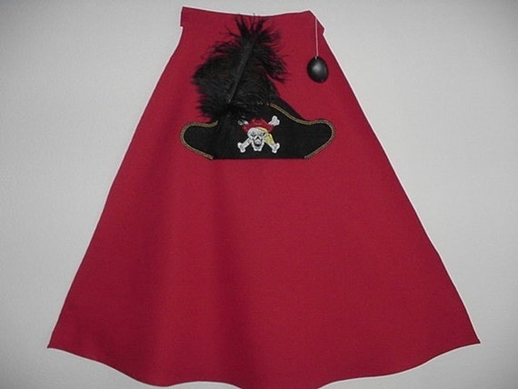 Pirate Cape with Eyepatch