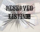 RESERVED LISTING FOR reinvented objects