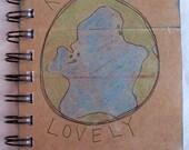 Mixed Media Journal-- Earth