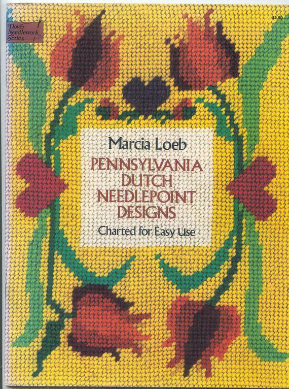 Pennsylvania Dutch Needlepoint Designs - Charted for Easy Use - Dover Needlework Series (1976)