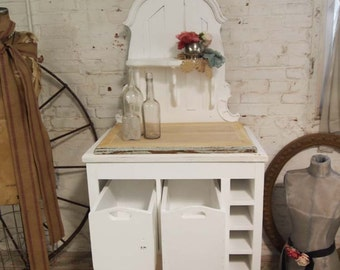 Painted Cottage Handmade One of A Kind Farmhouse Server SV230