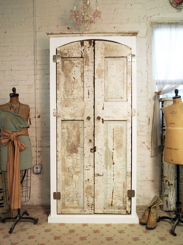 Painted Cottage One Of A Kind Farmhouse Armoire Am224