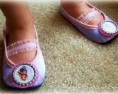 Rapunzel Shoes (Toddler sizes 6-12) - MEASURE your child's foot PLEASE