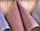 Cabin Series - Pine design Hand Towels in Agate