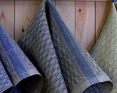 Cabin Series - Pine design Hand Towels in Slate