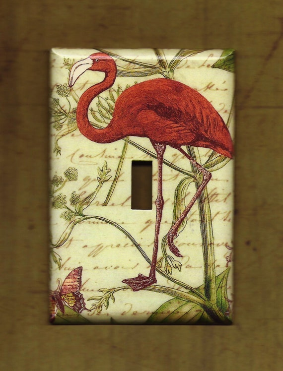Flamingo Switchplate cover