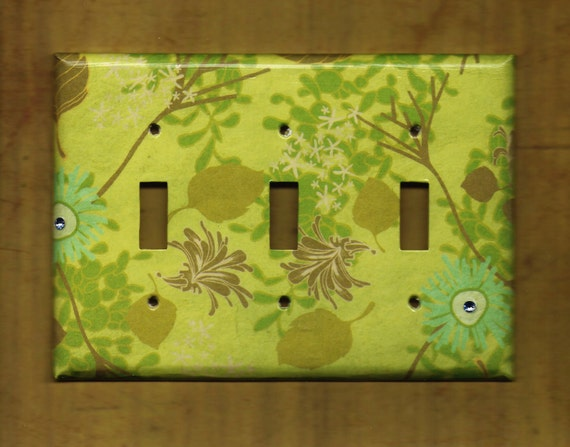 Somewhere in my Garden Switchplate cover