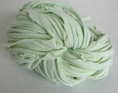 T-Shirt Yarn - Upcycled - Seafoam Green - 48 yds super bulky - READY TO SHIP