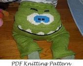 PDF Pattern - Gossamer Monster Face Embellishment