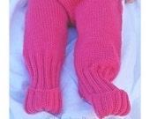 PDF Pattern - Foots - Knitted Cuffs