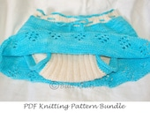 PDF Knitting Pattern - Skirt PLUS Soaker Pattern Bundle