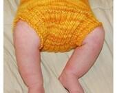 PDF Knitting Pattern - Butt Knits Traditional Wool Soaker