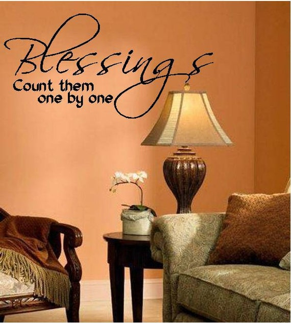 Quote-Blessings Count Them One By One