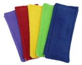 2 FLEECE & TERRY Double Sided Reusable Swiffer Pads, Pick a color or Mix it Up, EcoGreen Pad, washable Swiffer Sweeper pad, mop and dust pad