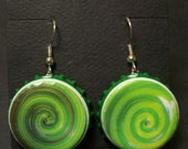 Swirls in Green