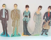 CHRISTMAS CLOSEOUT 50% off My Fair Lady Paper Dolls Set 1960's
