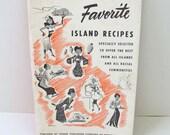 BLACK FRIDAY 20% off Vintage Cookbook Hawaiian Homemaker's Favorite Island Recipes