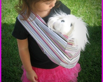 New  Doll pet baby carrier sling pouch toy kid toddler 2-10 years