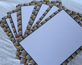 Set of 10 Photo Mat Cards - Halloween - by O'Scrap