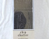 Glitzy Chip Chatter - Black - by DCWV, Pressed Petals