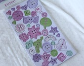 Chipboard Buttons - Katlin - by Crate Paper