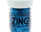 Zing Embossing Powder - Glitter Blue