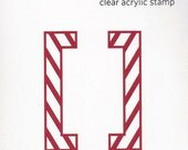 Clear Acrylic Stamp - Brackets - by QuicKutz