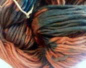 CLEARANCE- Hand Paint Heavy Worsted Wool 1ply Yarn- Worsted Wooly- in Endor