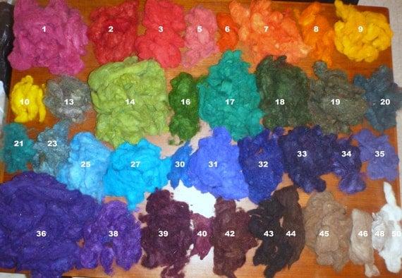 RESERVE for Chutneys: Needle Felting wool